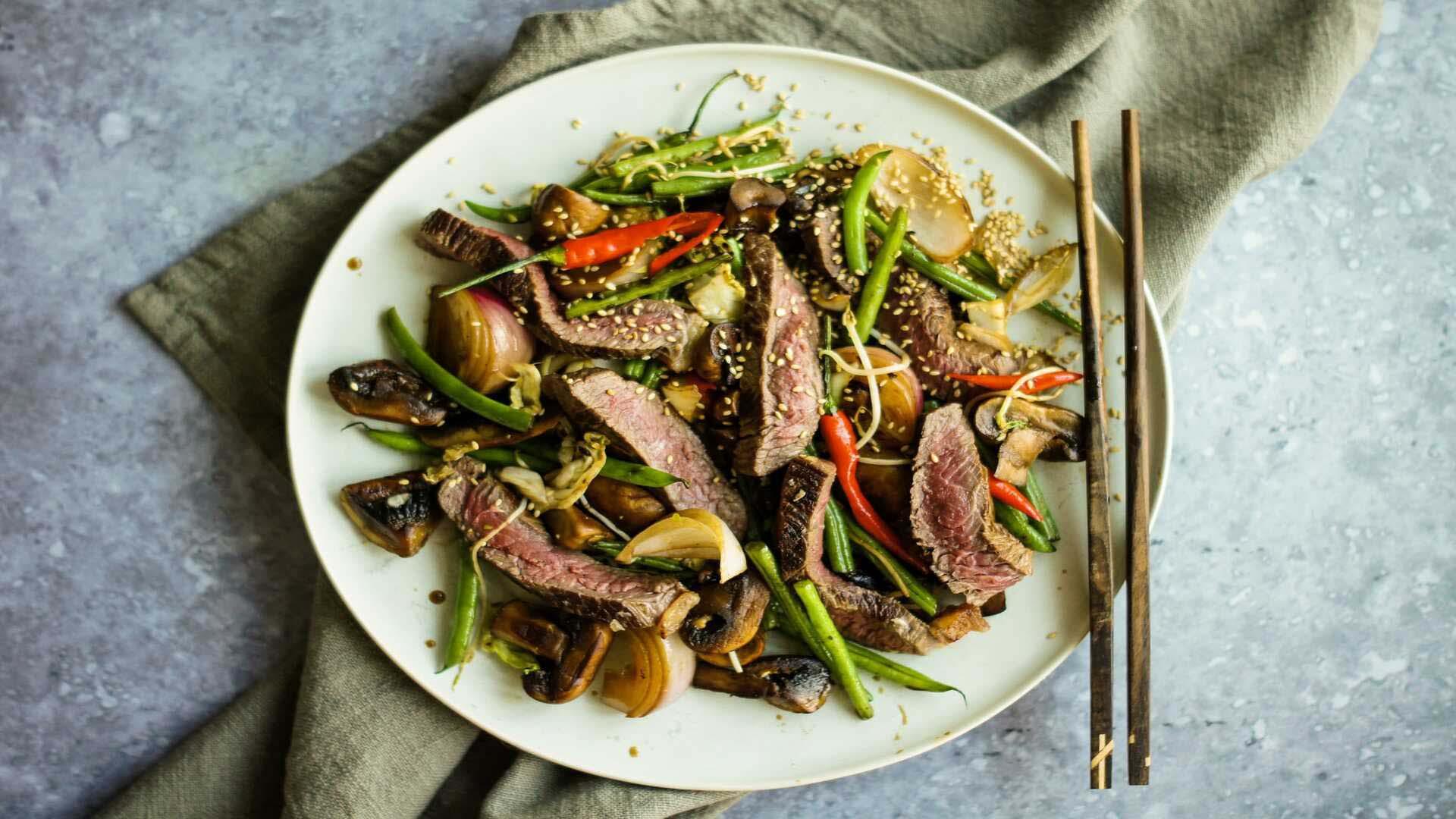 Spicy Mongolian Beef image